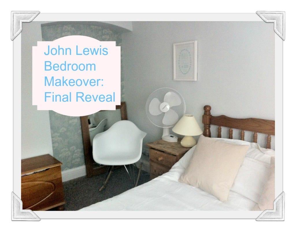 John Lewis Bedroom Makeover: Final Reveal