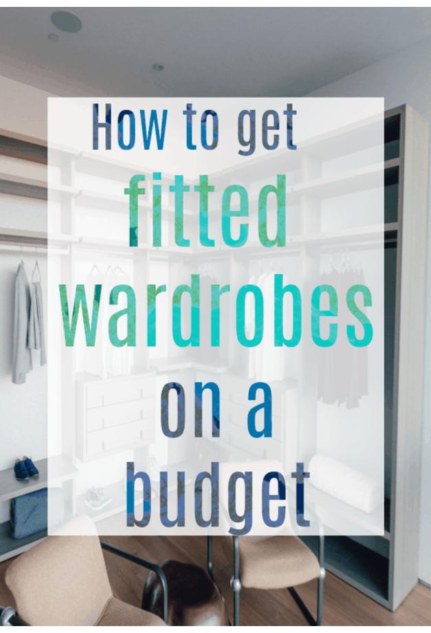 Fitted Wardrobes on Budget #wardrobe #wardrobes #storagetips #moneysaving #budgetdecor