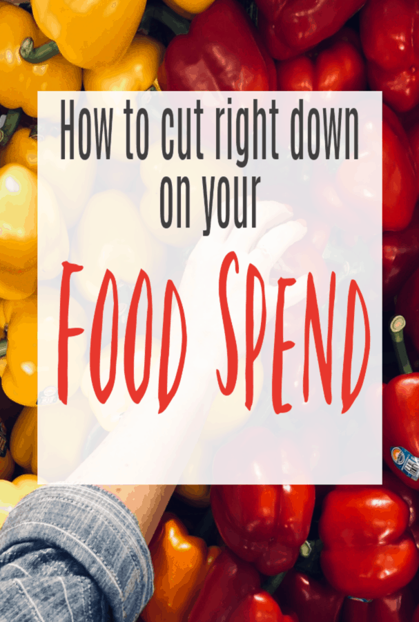 Cut down on what your spending on food