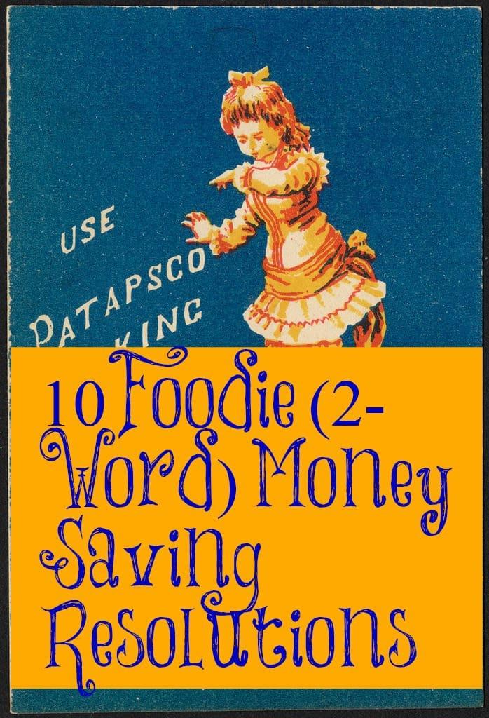 money saving resolutions