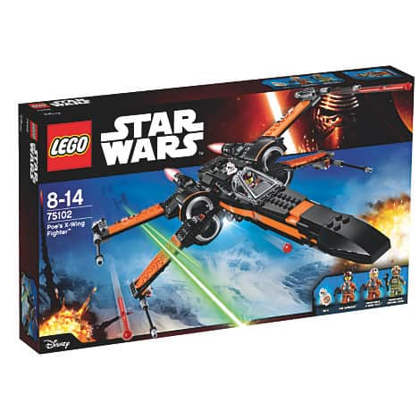Lego Star Wars The Force Awakens Poe's X-Wing Fighter Set