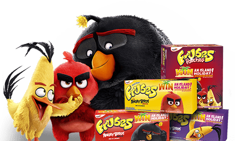 Angry Birds and Frubes