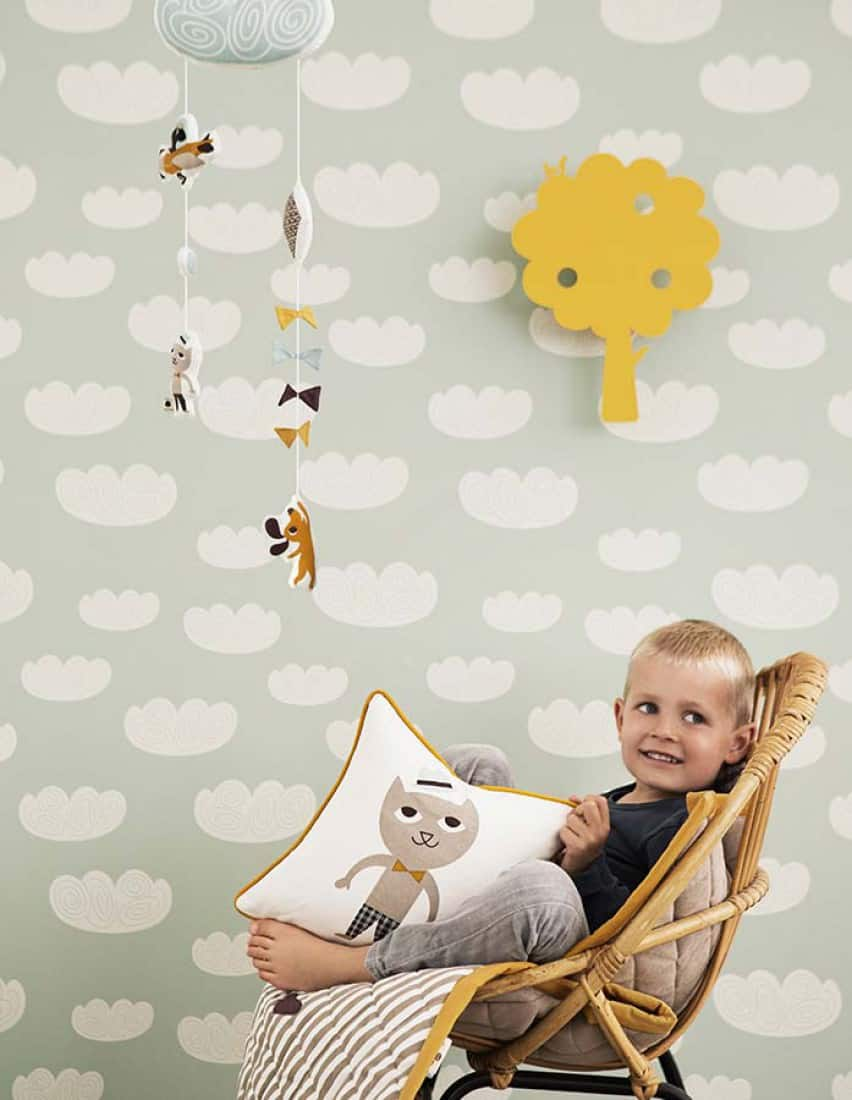 Decorating the room of a growing child