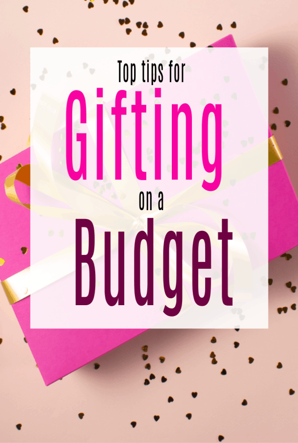 tips for gifting on a budget