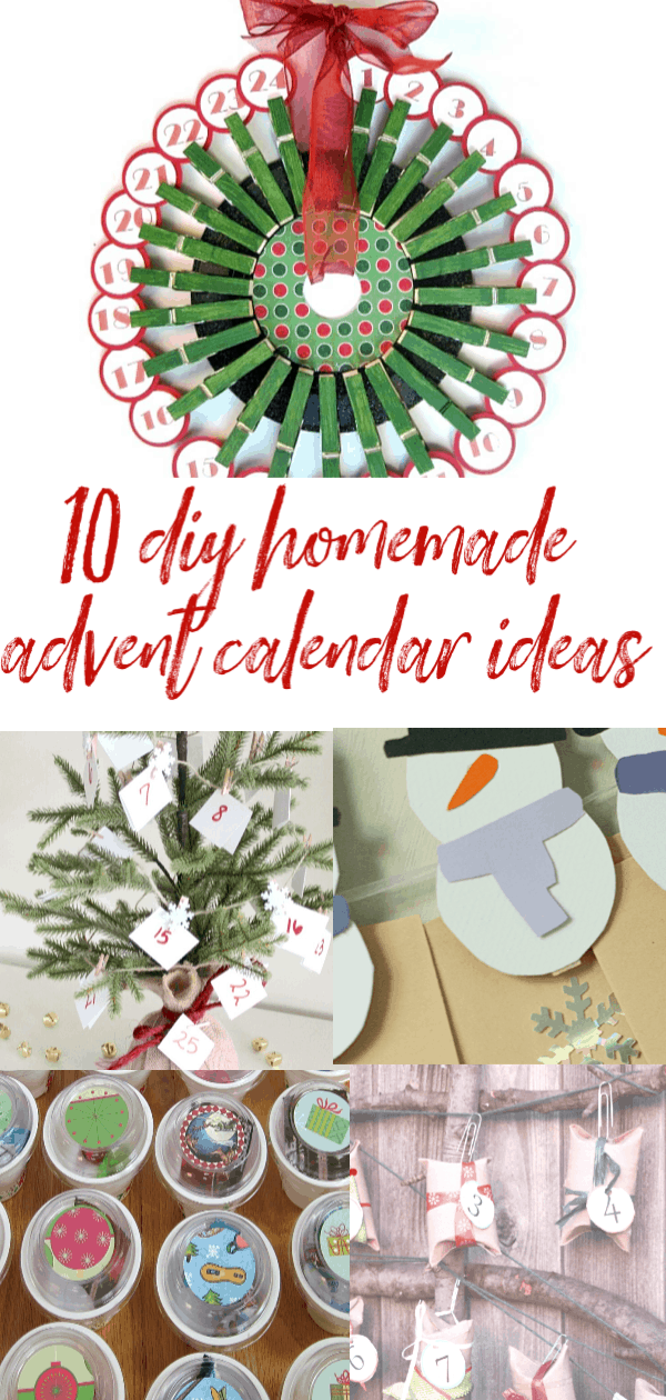 homemade advent clalendar ideaS