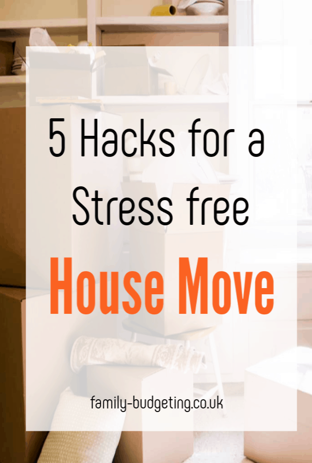 hacks for a stress-free moving experience