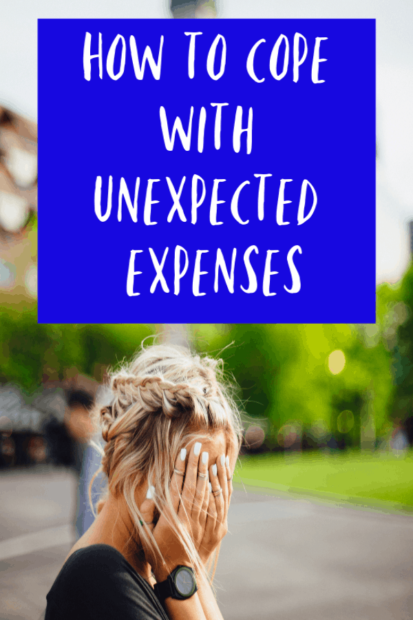 How to cope with unexpected expenses