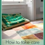 how to take care of quality rugs