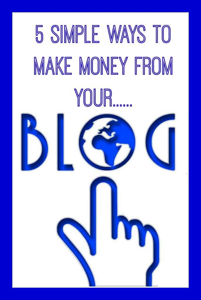 ways bloggers make money