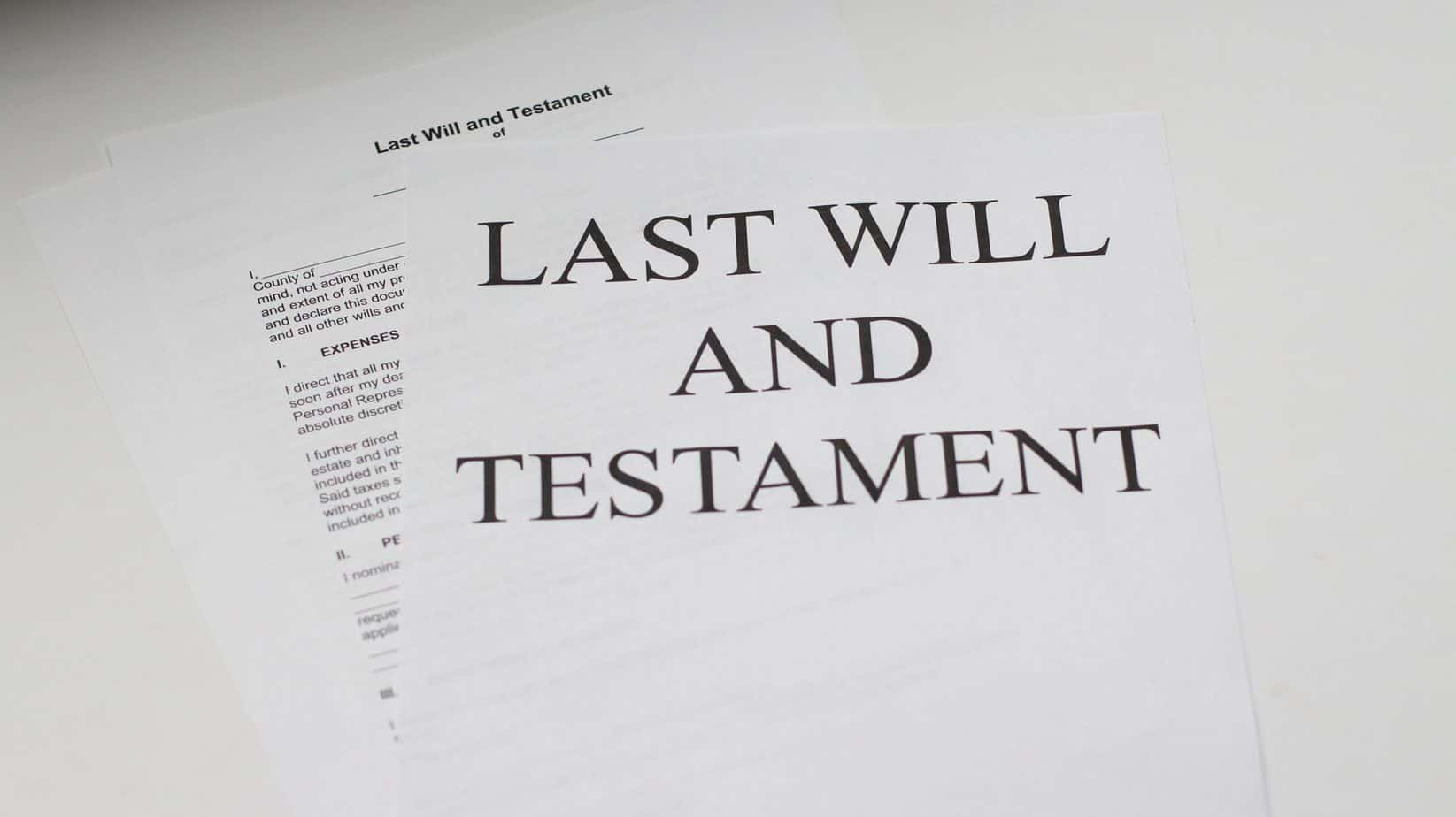 Challenging a Will