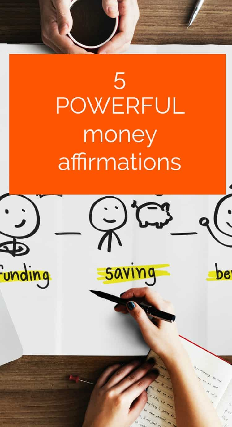 5 Frugal affirmations