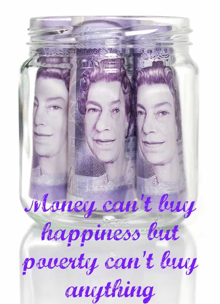 money quote, can't buy happiness