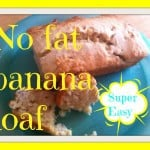 no fat banana loaf pin