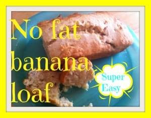 no fat banana loaf pin