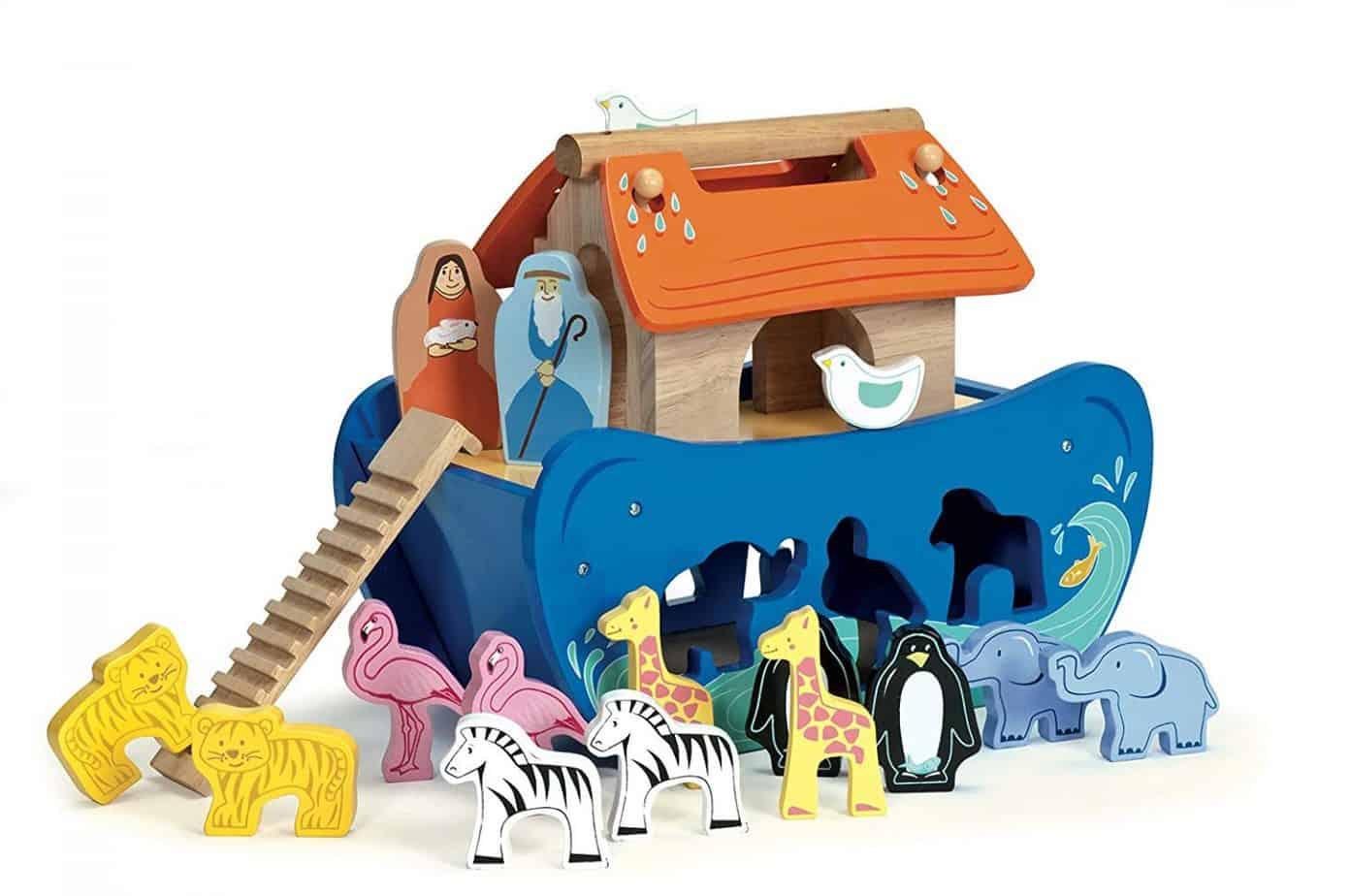Noahs ark shape sprter, best wooden toys