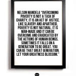 overcoming poverty by nelson mandela