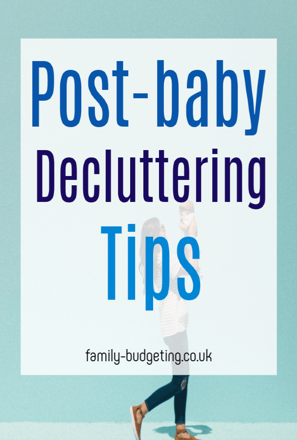 Post Baby Decluttering, brillinat baby budgeting delcuytter tips for you post-baby - a great way to clear space and make some money #declutter #decluttering #babybudgeting