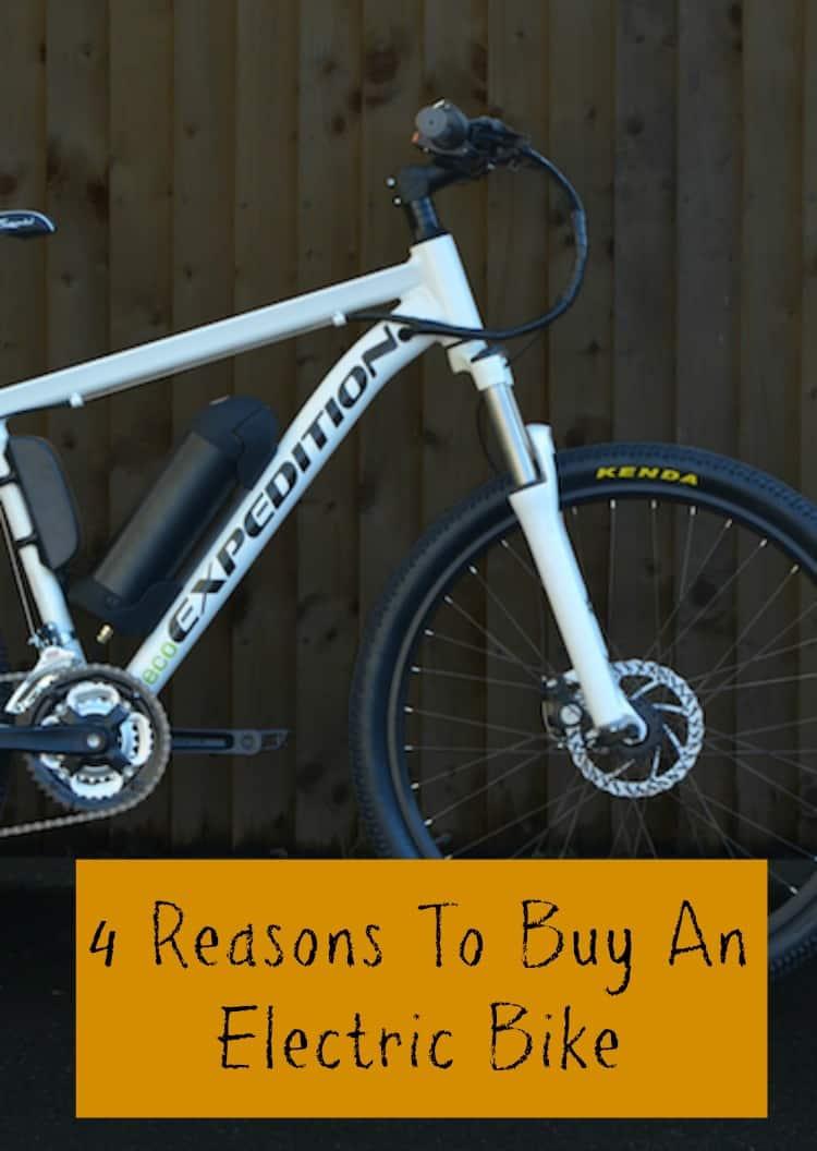 reasons to buy an electric bike