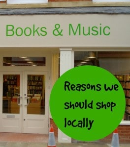 reasons to shop locally