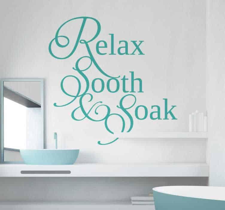 Bathroom Wall Stickers