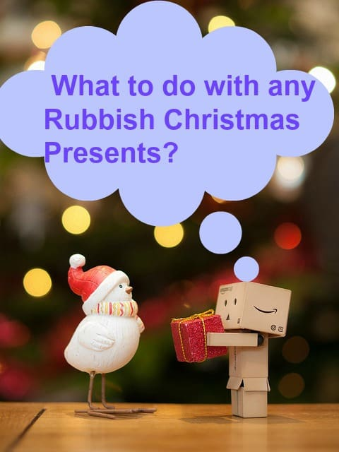 rubbish gift, rubbihs christmas presents