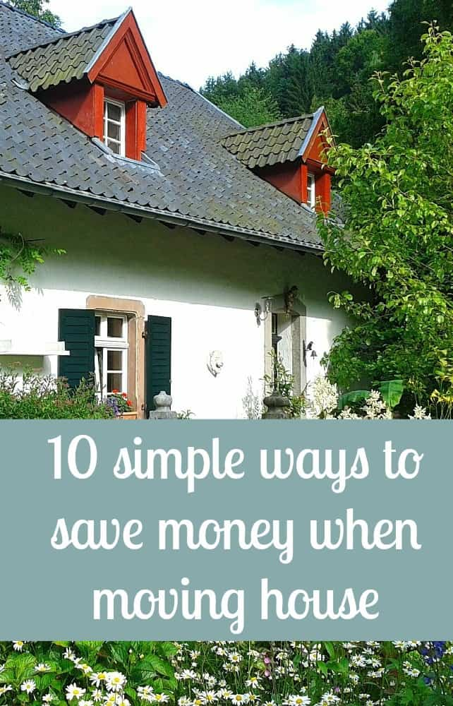 save money when moving house