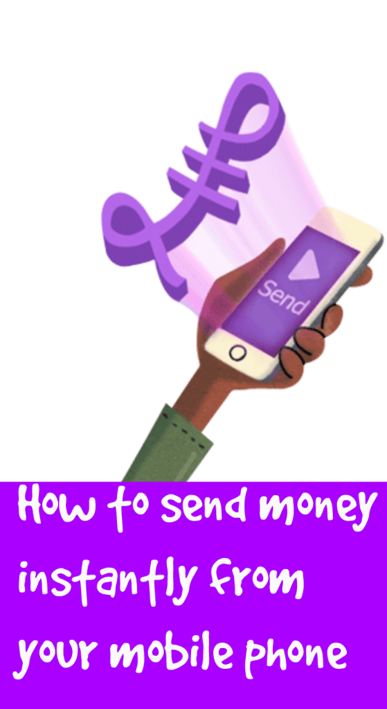 send money instantly from your mobile phone
