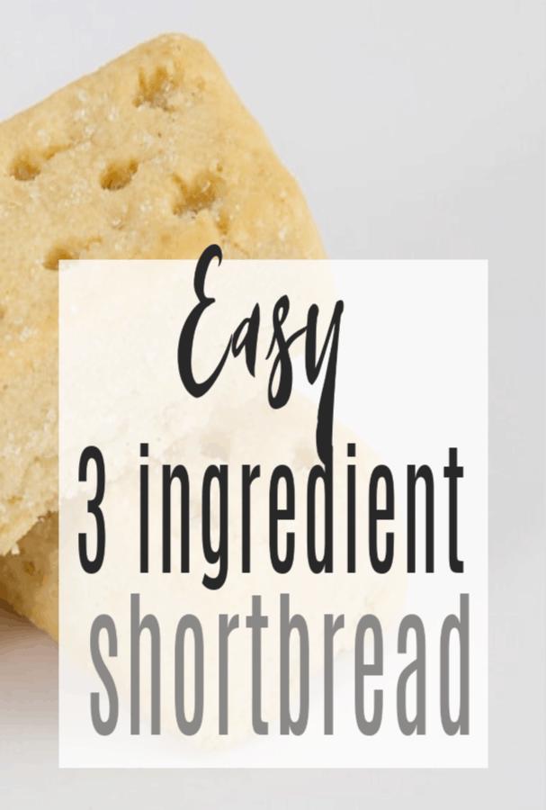 easy shortbread recipe