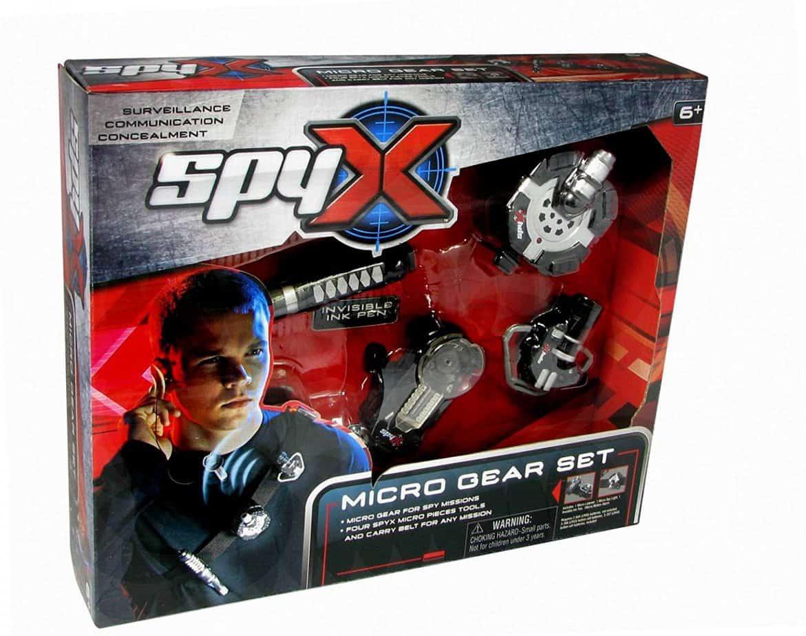 spy x micro gear set, best spy toys for kids