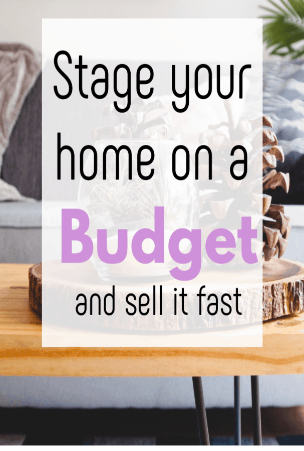 stage your home on a budget, present your ouse for sale without overspending and get a quick sale #moneytips #movinghouse #realestate #staginghouse