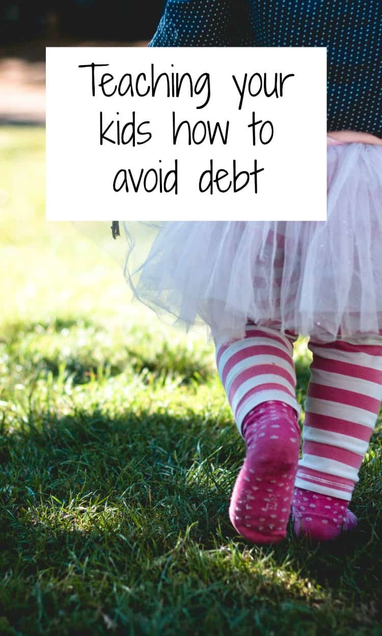 kids how to avoid debt