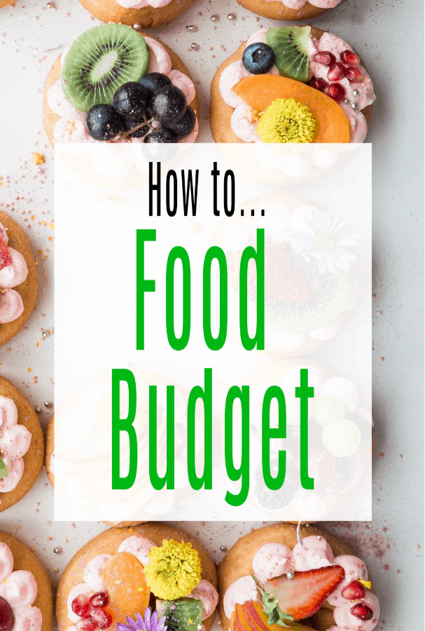 how to food budget