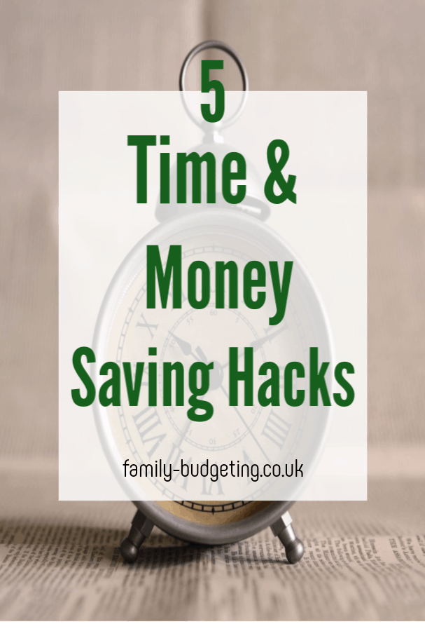 time and money-saving hacks, brilliant ways to save your selves time and money and to help yu lead an efficient low cost loifestyle perfect for a family on a budget #moneyhacks #timehacks #moneysaving