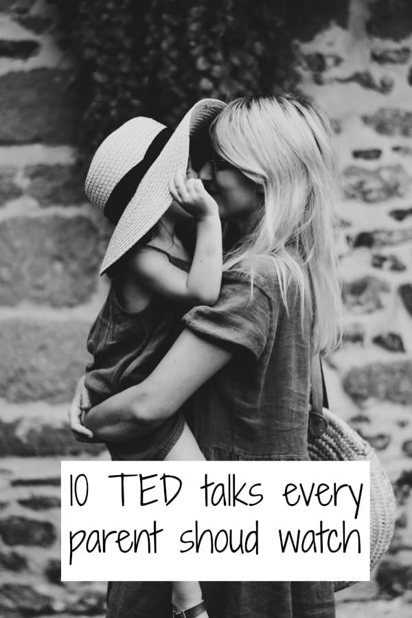 The top 10 parenting TED talks