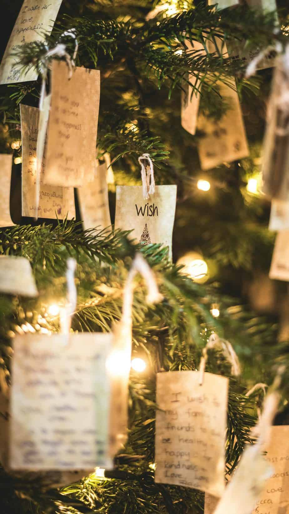 Preparing to visit family near Christmas