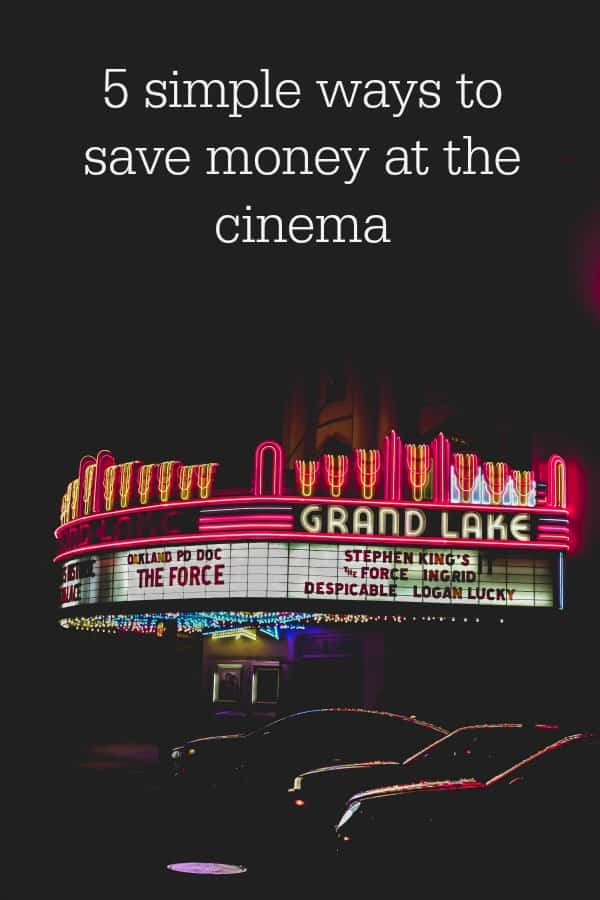 make going to the cinema cheaper