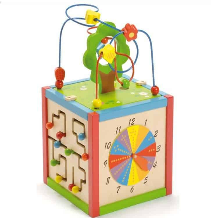 East Coast Wooden Activity Cube, East Coast Wooden Activity Cube Review
